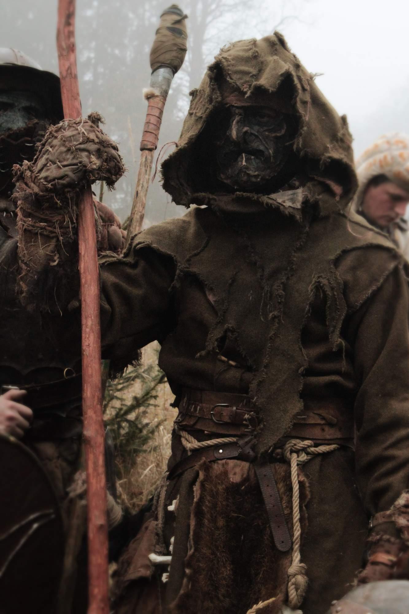 Krushak - LARP orc costume for winter by Krushak-Dagra