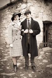 Helene Strauss and Jan Fiala - WW2 LARP by Krushak-Dagra