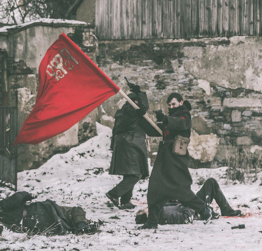 Soldier of RSFSR - Legion: Siberian Story LARP by Krushak-Dagra