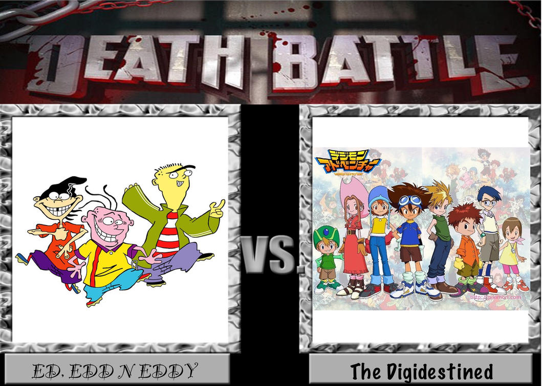 Death Battle: The Eds vs The Digidestined by B-master2015