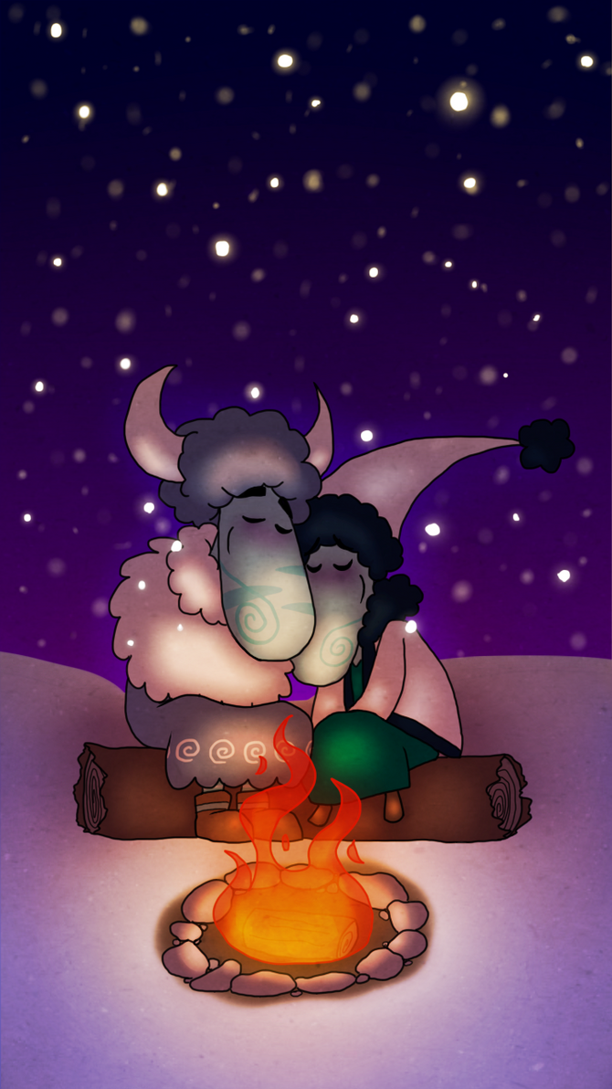 Its Cold, Lets Snuggle by Imp-Da-Cat