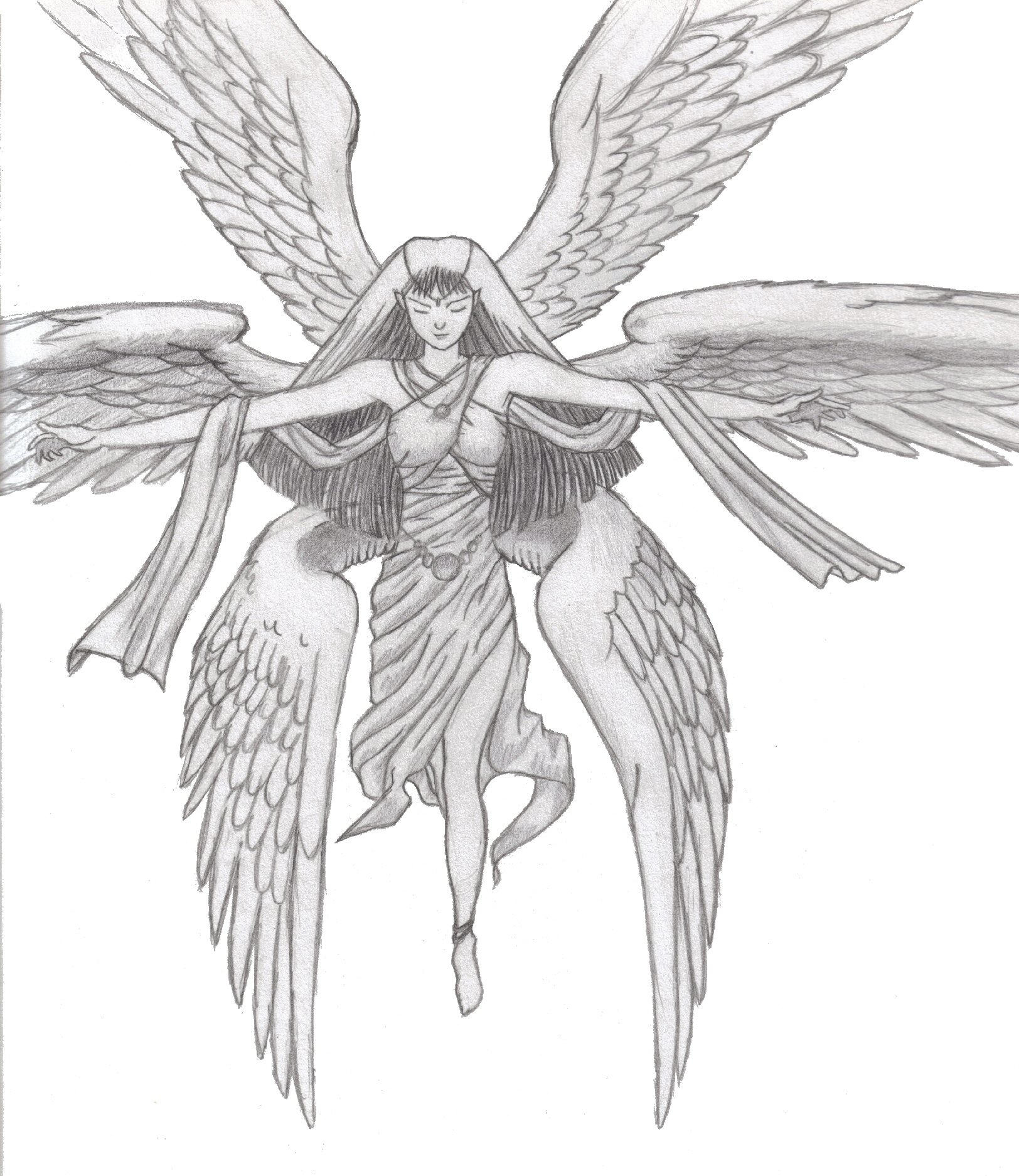 A Six Winged Angel by devilfoxnaruto on DeviantArt