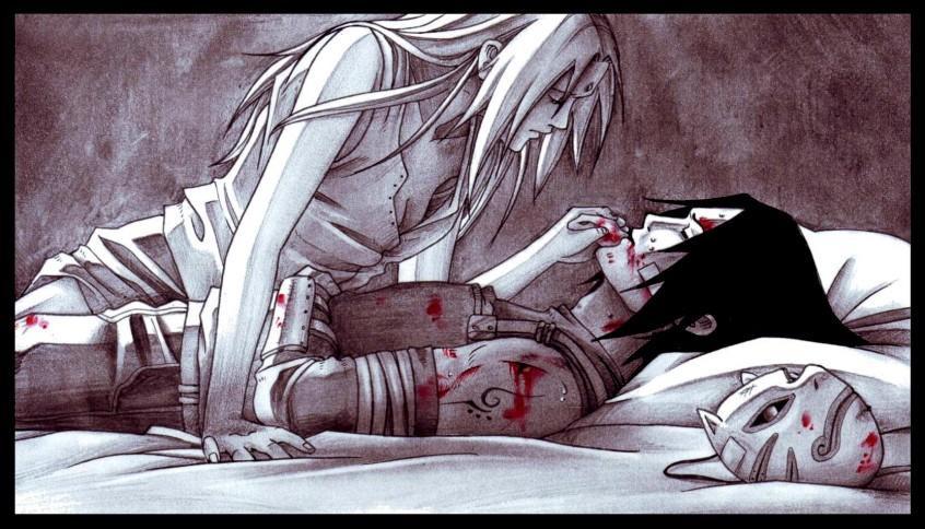 Коллекция картинок Саске и Сакура.