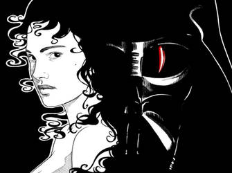Padme and Anakin by nami64