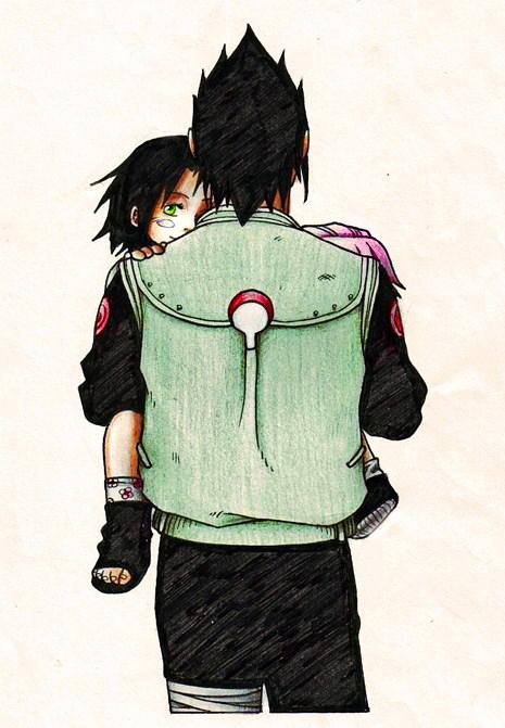 papa sasuke 2 by nami64