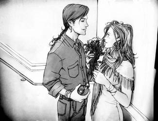 Bill + Fleur -First RendezVous by nami64
