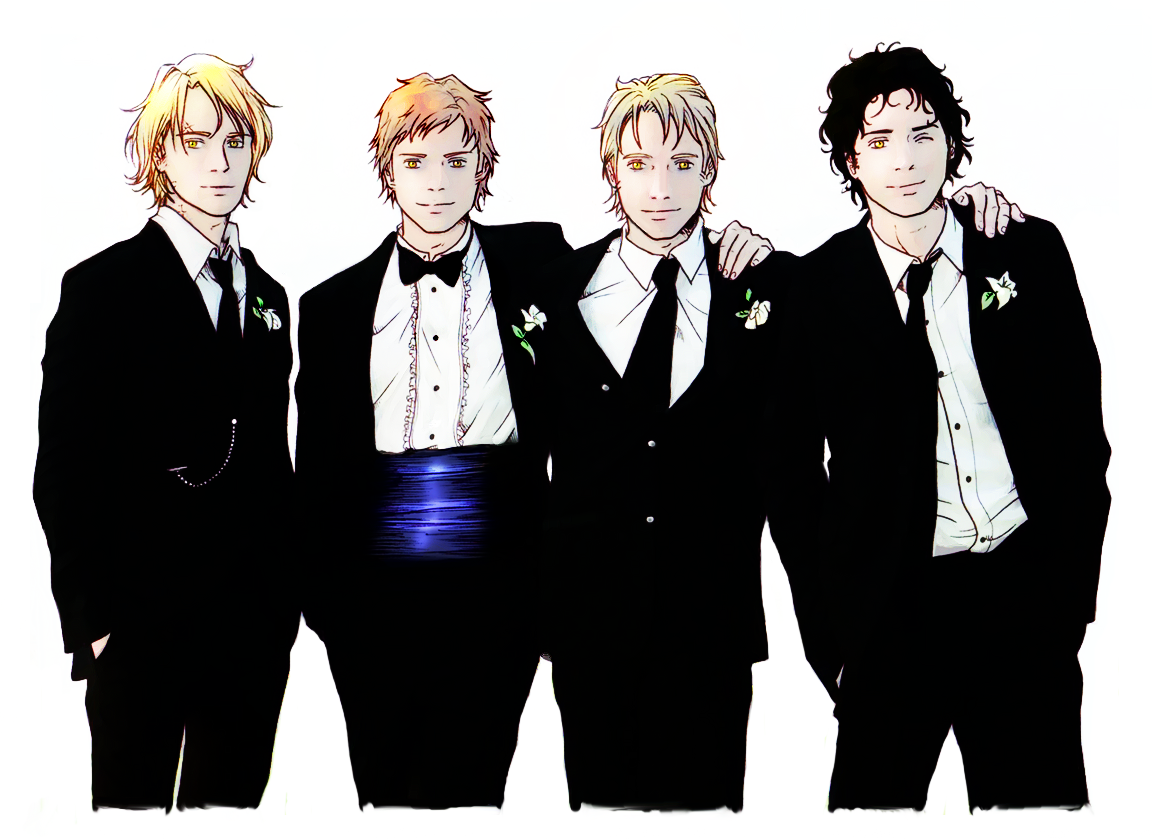 The Cullens Boys - BDspoilers by nami64