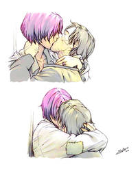Tonks and Remus by nami64