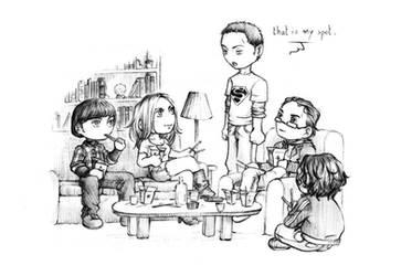 The Big Bang Theory - chibis by nami64