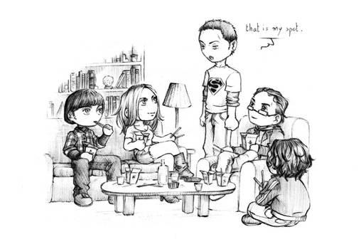 The Big Bang Theory - chibis