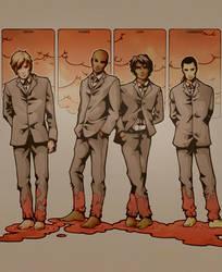 Four Horsemen of the Apocalyps by nami64