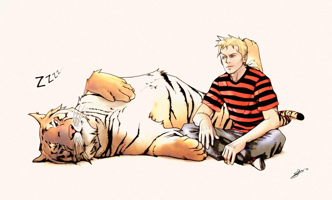 Calvin and Hobbes 2010 by nami64