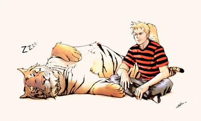 Calvin and Hobbes 2010