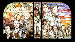 Stained Glass Windows - SPN