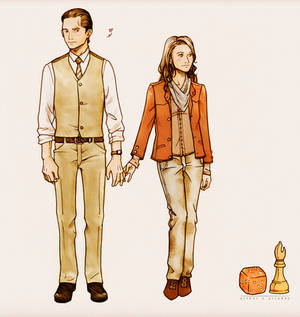 Arthur and Ariadne - INCEPTION