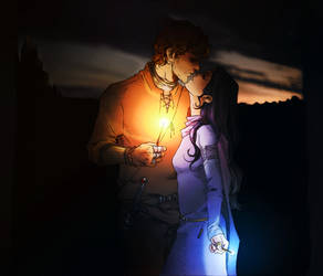 LUMOS - Rowena and Godric