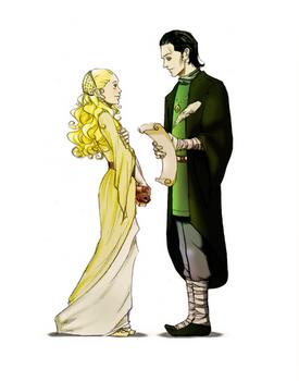 Helga and Salazar by nami64