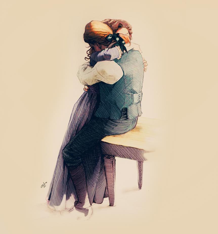 Thomas and Martha by nami64