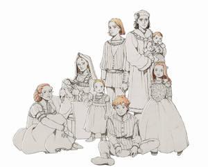 Tudor Family Portrait - AU