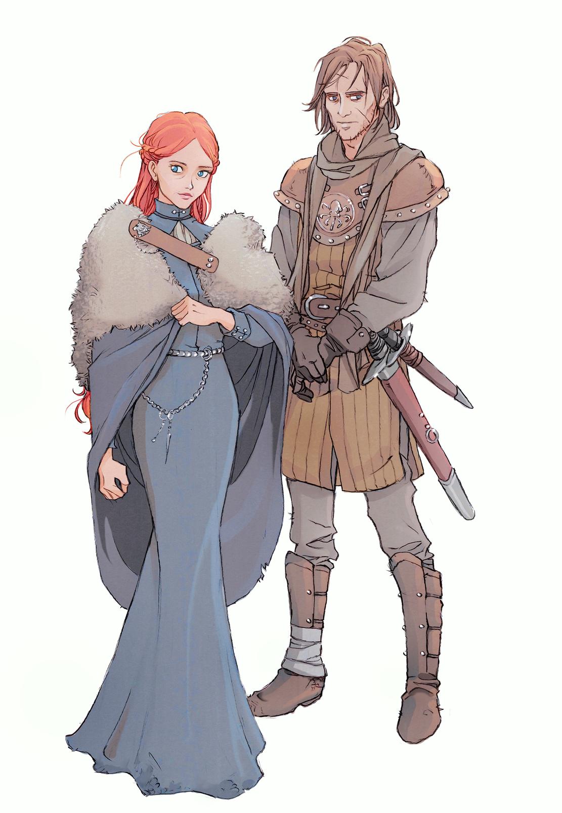 Sansa and Theon