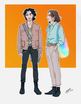 Greg et Eliott
