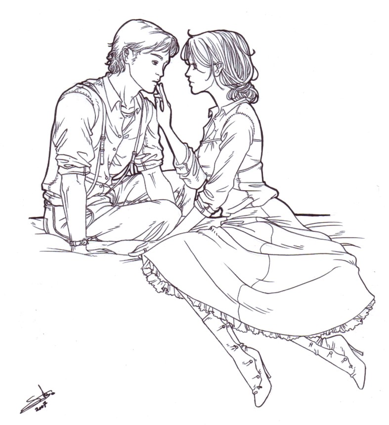 Couple tiny by nami64 on deviantart - Dessin manga couple ...