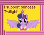 Princess Twilight stamp by paulinaghost