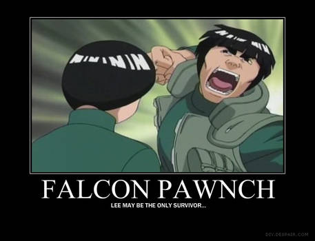 Might Guy's Falcon Punch