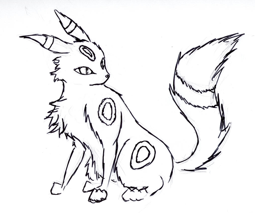 Pokemon Umbreon Coloring Pages Images Pokemon Images Umbreon Coloring Pages