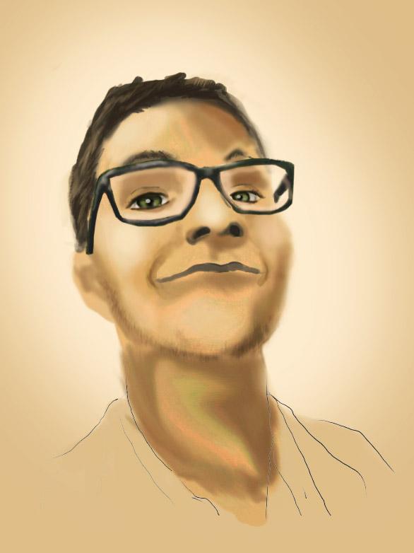 self portrait :D by arctifox