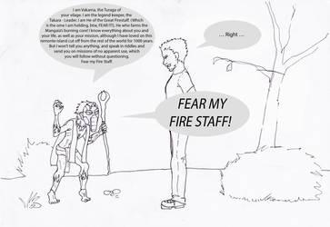 FEAR MY FIRESTAFF! by Felfreak