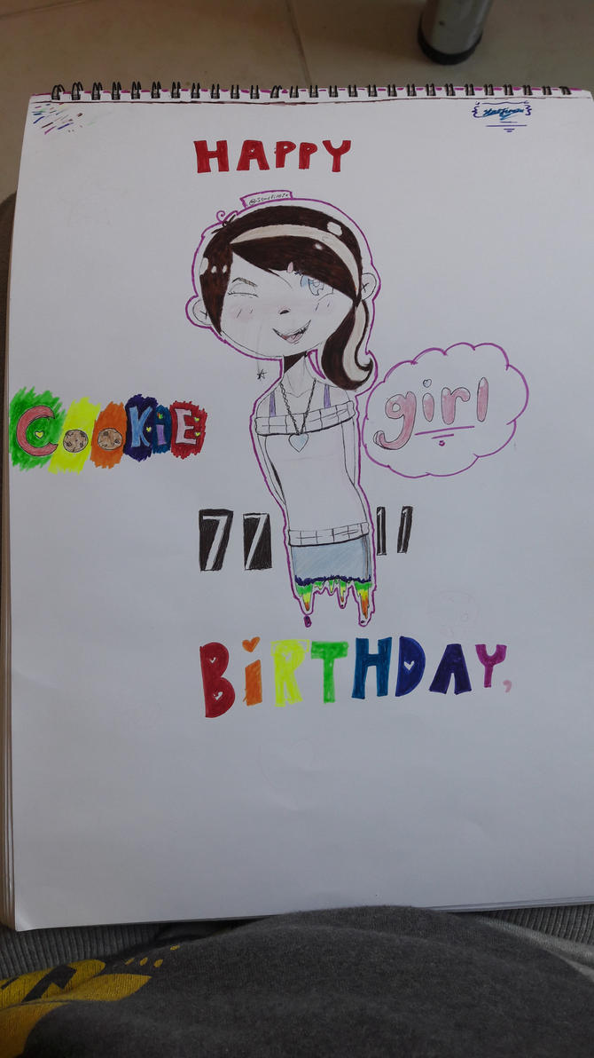 Happy Birthday Cookiegirl7711!!! :D by Starfire7x