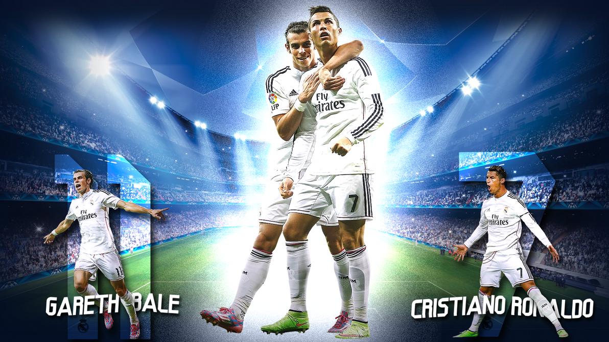 Cristiano Ronaldo And Gareth Bale Wallpaper By Szwejzi