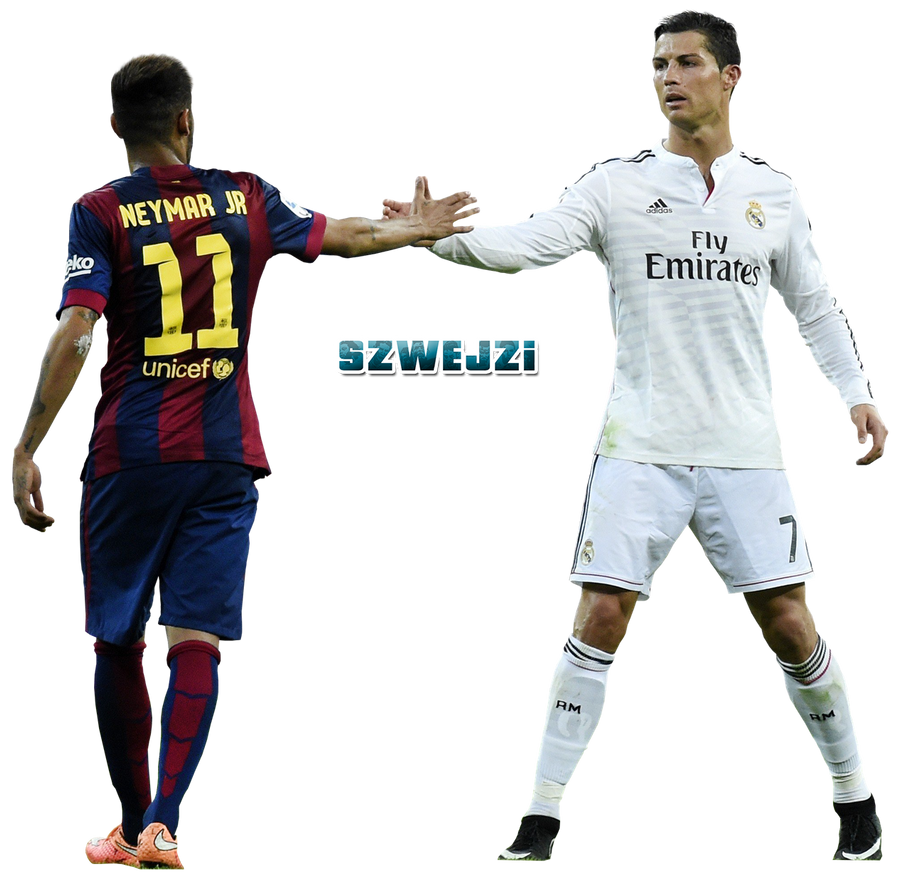 Cristiano Ronaldo And Neymar By Szwejzi On DeviantArt
