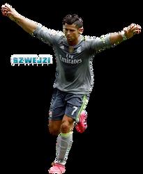 Cristiano Ronaldo by szwejzi
