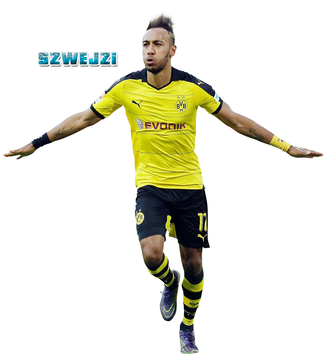 Pierre Emerick Aubameyang by szwejzi on DeviantArt
