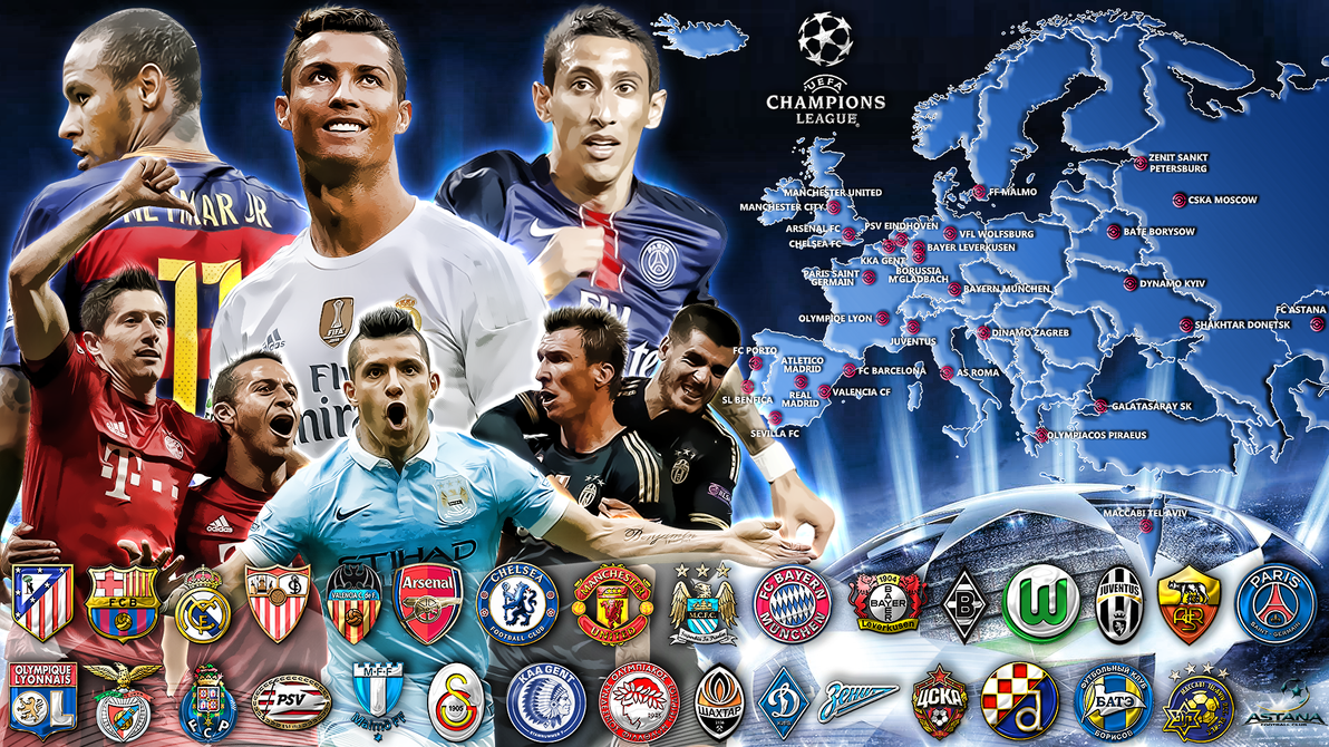 UCL 15-16 Wallpaper by szwejzi