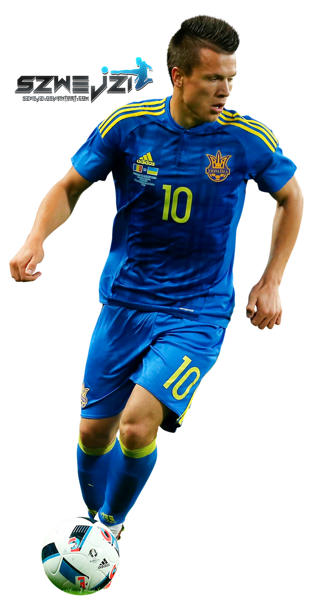 Yevhen Konoplyanka by szwejzi on DeviantArt