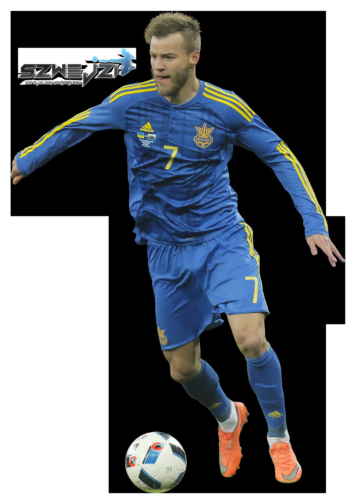 Andriy Yarmolenko by szwejzi on DeviantArt