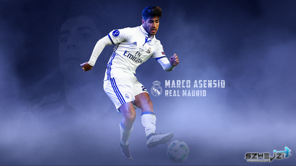 Marco Asensio Real Madrid 16-17 Wallpaper by szwejzi on ...