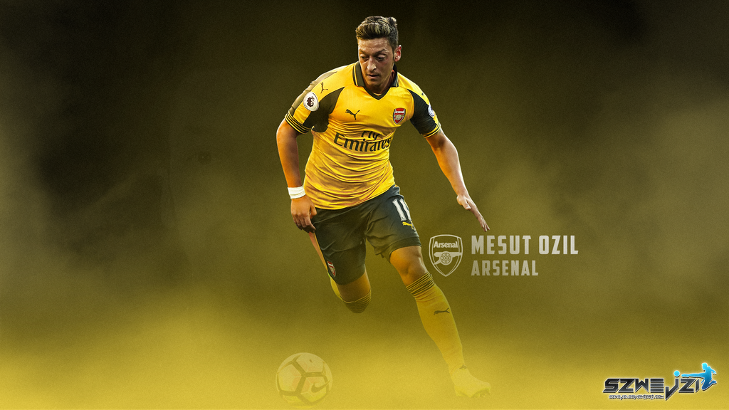 Mesut Ozil Arsenal 16-17 Wallpaper By Szwejzi On DeviantArt