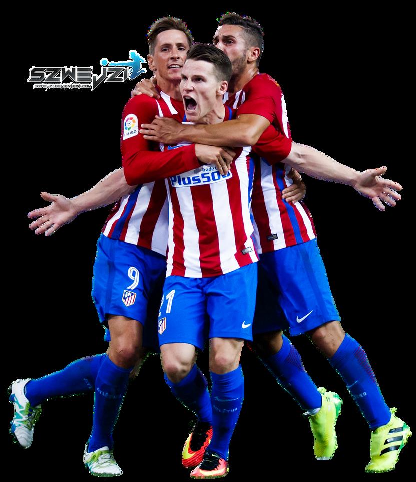 Kevin Gameiro Fernando Torres Koke by szwejzi on DeviantArt