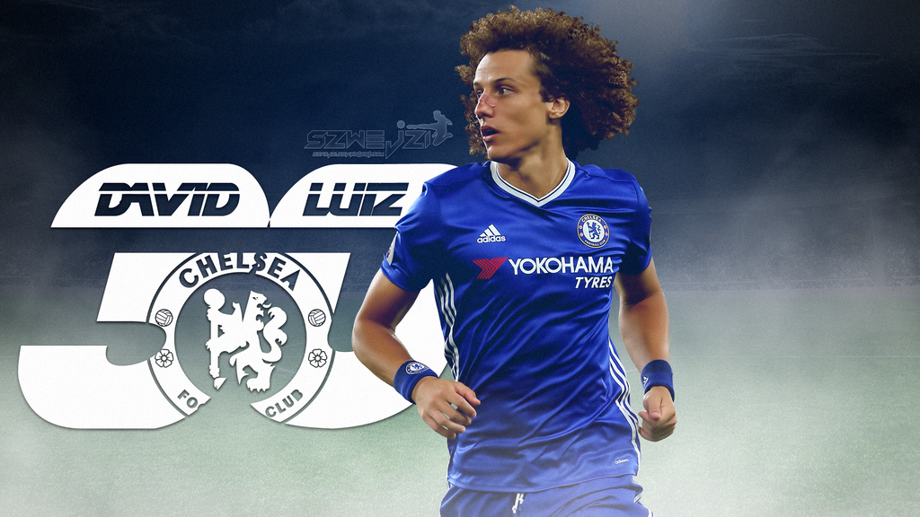 David Luiz Chelsea 2016-2017 Wallpaper By Szwejzi On