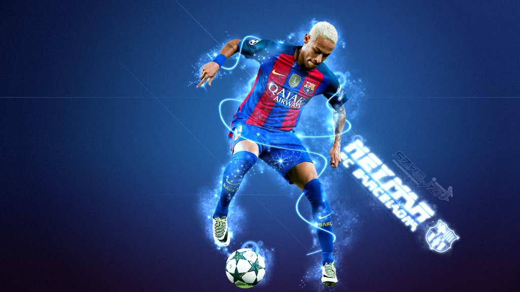neymar fc barcelona 2016 2017 wallpaper by szwejzi on