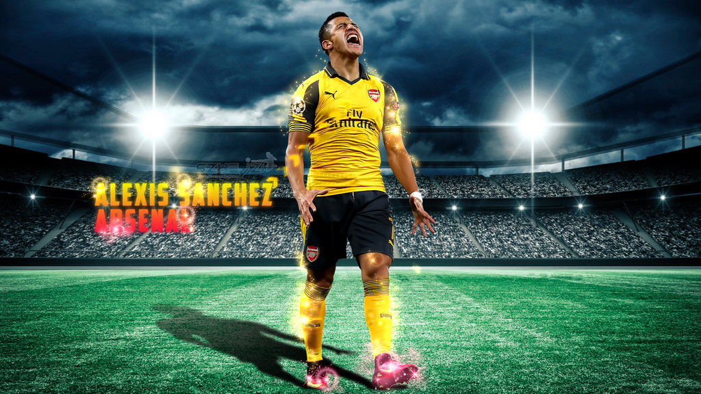 Alexis Sanchez - Arsenal 2016-2017 Wallpaper by szwejzi on ...
