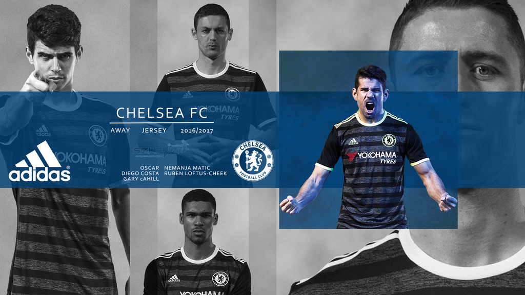 Chelsea Away Kit 2016 2017 Wallpaper By Szwejzi