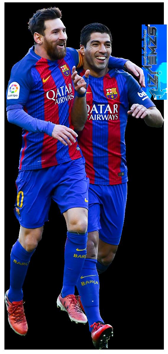 Lionel Messi Luis Suarez By Szwejzi On Deviantart