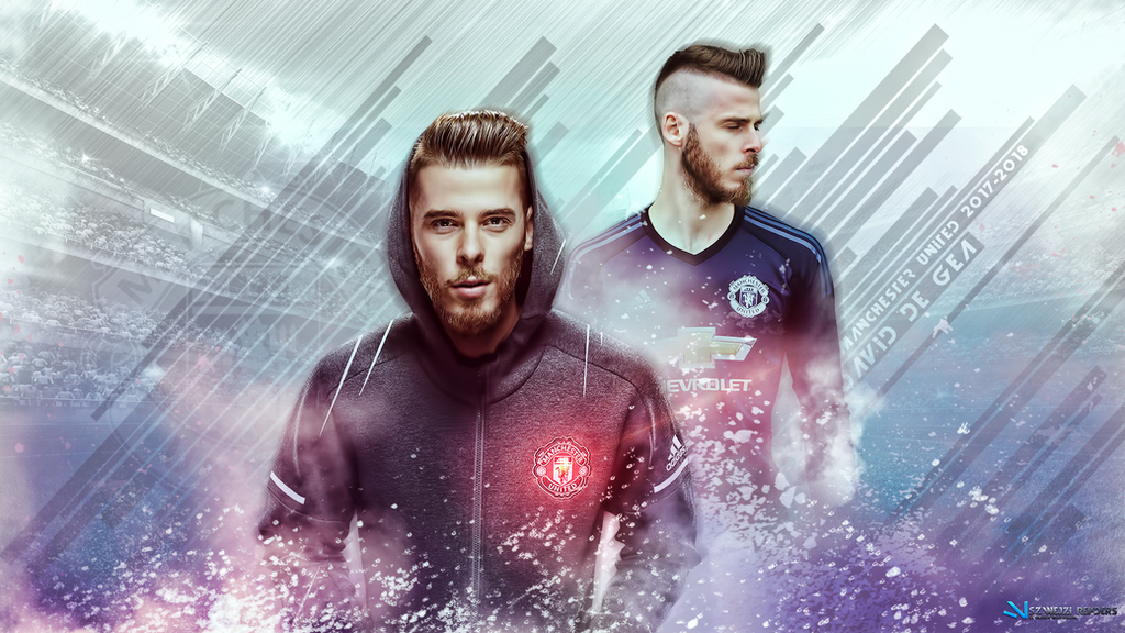 David De Gea Manchester United 2017-2018 Wallpaper By