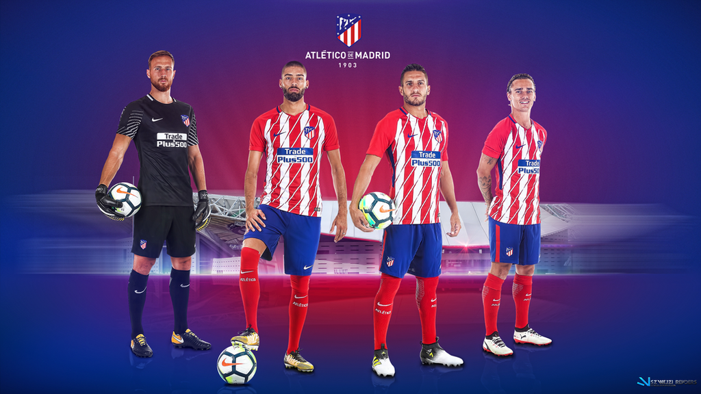 Atletico madrid 2017 2018 wallpaper by szwejzi on deviantart atletico madrid 2017 2018 wallpaper by szwejzi voltagebd Image collections
