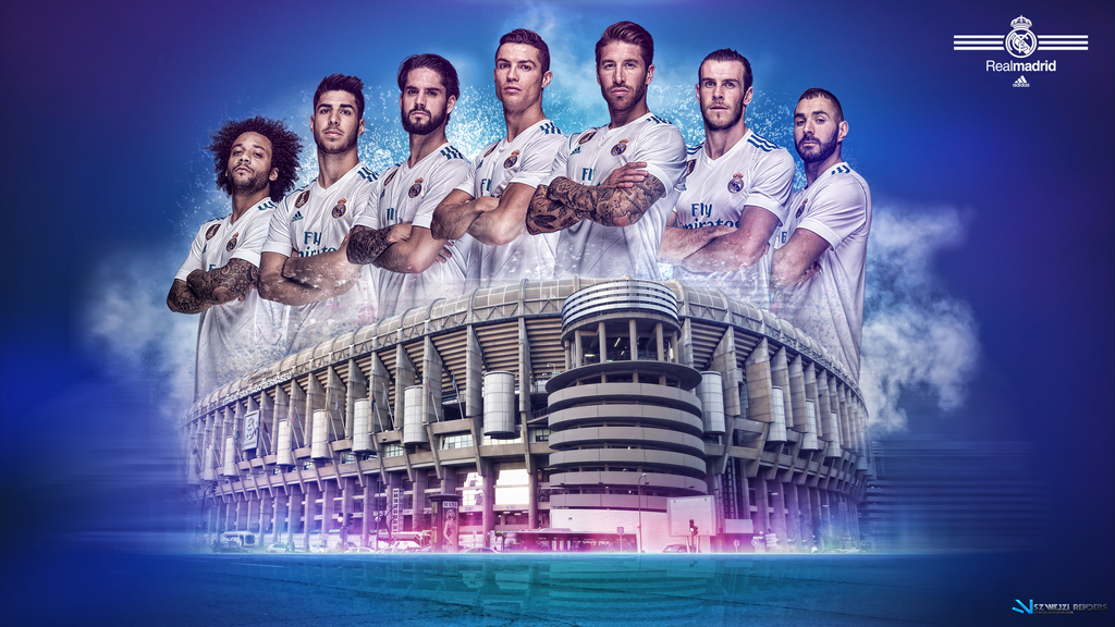Real madrid 2017 2018 wallpaper by szwejzi on deviantart - Real madrid pictures wallpapers 2017 ...